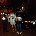 La policía incautó marihuana y detuvo a un joven en Oberá