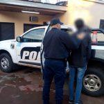 Ingresó a una propiedad ajena y fue detenido por la Policía