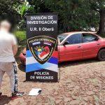 Detuvieron a un joven por un hecho de estafa y recuperaron un vehículo en Oberá