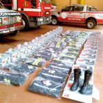 Llegaron equipos desde Austria para bomberos voluntarios de Oberá