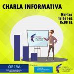 Charla informativa Fondo de Crédito Misiones