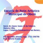 Clases de Patín Artístico Municipal