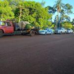 La Policía interceptó un camión con 400 kg de yerba