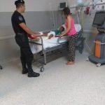 Policías reanimaron a un niño que ingirió accidentalmente pastillas tranquilizantes