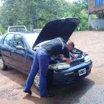 Policías secuestraron un automóvil con chapa patente y documentos truchos