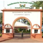 Gendarmería Oberá colabora con el control del aislamiento social preventivo