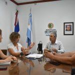 Reunión con la Ministra de Agricultura Familiar