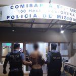 Incumplió una orden Judicial y fue detenido por la Policía