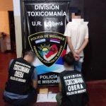 La Policía incautó 2 gramos de cocaína en Oberá