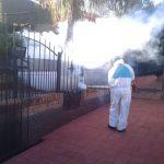 Continúan las tareas de fumigación contra el dengue