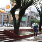 Limpieza de espacios públicos y desinfección