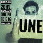 Hoy Gastón Nakazato presenta temas de su próximo disco UNE