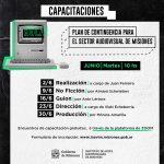 Capacitación online para el sector audiovisual