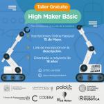 Taller gratuito de robótica