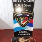 Recuperaron elementos robados de un vehículo que estaban siendo ofrecidos para la venta
