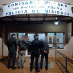 Intentaron ingresar a un vehículo ajeno y fueron detenidos por la Policía