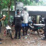 Dos motocicletas de dudosa procedencia fueron secuestradas por la Policía