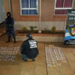 En un allanamiento, la Policía detuvo a un hombre, incautó cocaína, marihuana y armas de fuego