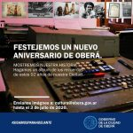"""Muestra virtual """"Aniversario de Oberá"""""""