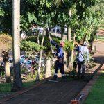 Mejoras en plaza de barrio Punta Alta y podas correctivas