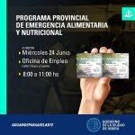 Entrega de Tickets Verdes solidarios del IPLyC