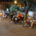 Prevención: la Policía demoró a nueve personas y labró seis actas de infracción al tránsito