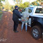 Atacó con un cuchillo a su ex pareja y fue detenido por la Policía