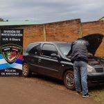 Recuperaron en Oberá un automóvil robado en Buenos Aires