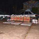 Escuadrón 9 Oberá secuestró más de seis mil paquetes de cigarrillos