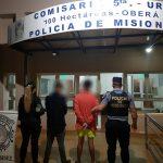 Dos jovenes fueron detenidos por un robo calificado registrado en Oberá