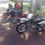 Tres motocicletas y tres licencias de conducir fueron retenidas por infracción al tránsito