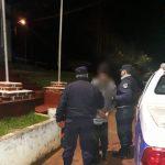 Causó disturbios, agredió a su pareja y fue detenido