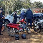Huyó de la Policía con una motocicleta adulterada y fue detenido