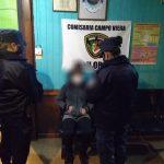Tras una intensa búsqueda, la Policía encontró a Mariana  de 13 años en Campo Viera