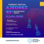 Torneo virtual de ajedrez por el aniversario de Oberá