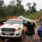 El municipio asiste a familias afectadas por la lluvia