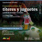 Los Talleres Virtuales suman propuestas para niños y performers