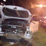 Despiste de una camioneta en la ruta 14, dejó como saldo dos lesionados en Oberá