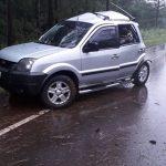 Despiste de un vehículo dejó 3 lesionados