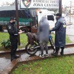 Una motocicleta robada está madrugada fue recuperada en las últimas horas