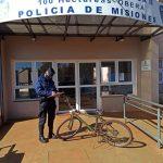 Recuperaron una bicicleta robada en el barrio 180 Viviendas