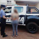 Una mujer fue detenida por agredir a su vecino