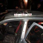 Huyeron de un control policial en un vehículo y fueron detenidos