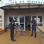 Tras un rápido accionar se recuperó una bicicleta robada