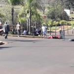Dos personas lesionadas tras un siniestro vial entre dos motocicletas