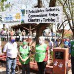 Celebraron 25 años de las Ferias Francas