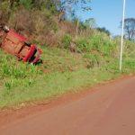 Despiste de un vehículo dejó cuatro lesionados
