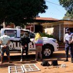 La Policía recuperó elementos robados en Alberdi y Campo Viera