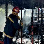 Una vivienda fue totalmente consumida por un incendio en Oberá