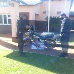 Policías recuperaron tres motos robadas: hay un detenido